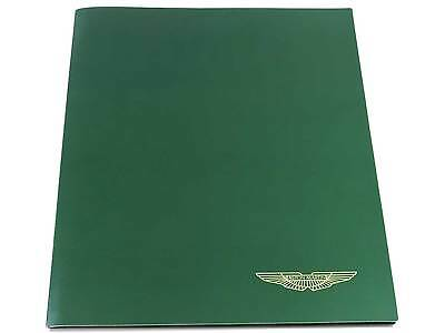 Aston Martin DB7 Vantage Press Kit Brochure with Slides 2001