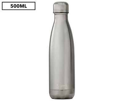 S'well Stainless Steel 500mL Insulated Bottle - Titanium