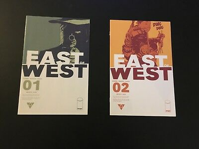 East of West 1, 2 2013 Image Lot Run Set Collection Hickman 1st Print High Grade