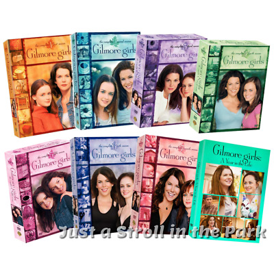 Gilmore Girls: Complete TV Series Season 1-7 + A Year In The Life Box/DVD Set(s)