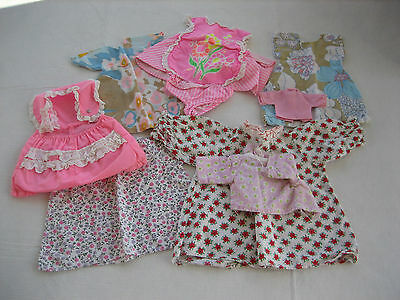 Mixed Lot Of 8 Vintage Larger Size Doll Clothes - A04