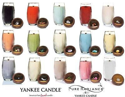 ☆ NEW☆ Yankee Candle PURE RADIANCE Vase Candle 22 Oz ☆YOUR CHOICE☆ Lumiwick