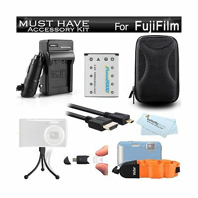 34cb78ff Must Have Accessory Kit For Fuji Fujifilm FinePix XP70 XP80 XP90 XP120  Waterp.