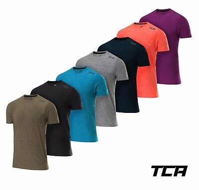 TCA Men's Galaxy Short Sleeve and Long Sleeve Training Top