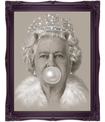 Queen Elizabeth II Art Print Picture Poster Print Wall Art Pop Art Unframed
