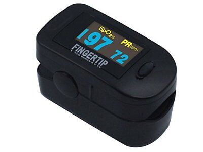 Deluxe Concord Fingertip Pulse Oximeter - BlackOx Deluxe 2 days shipping!!