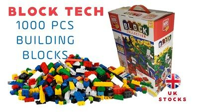 Block Tech 1000 pcs Building Blocks - Compatible with other Leading Brands 6+