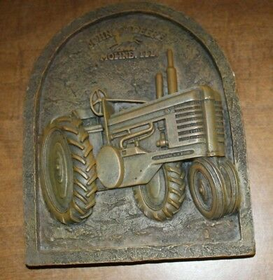 New John Deere Moline, Ill. Tractor Rustic Plaque Free Shipping