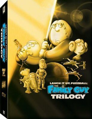 💿 Laugh It Up Fuzzball The FAMILY GUY DVD Trilogy Star Wars Animation Comedy