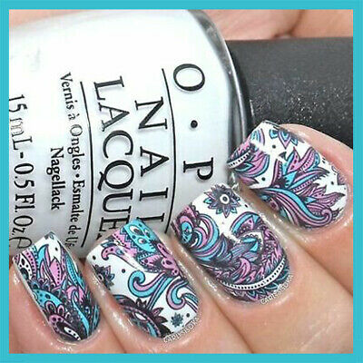 ❤️nouveau Stickers Transfert Bijoux Ongles Water Decals Nail Art