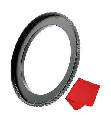Breakthrough Photography 58mm to 82mm Step-Up Lens Adapter Ring For Filters M...