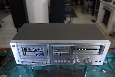 Sharp Rt-30 Hifi Stereo Kassettendeck Cassette Deck Tonband Tapedeck Japan Top
