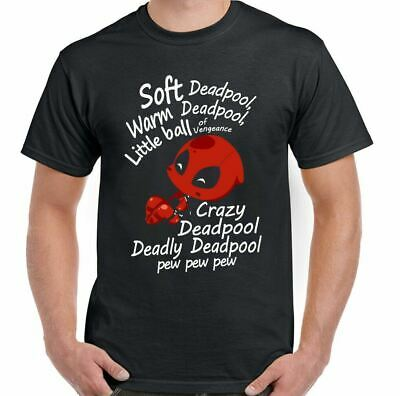 Soft Deadpool Mens Funny T-Shirt Sheldon Cooper Mash Up Parody