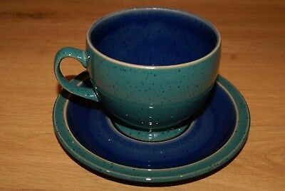 Denby Harlequin Classic  Breakfast Cup and Saucer