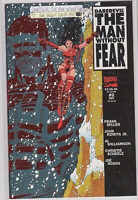 Daredevil The Man Without Fear Comic #2 Marvel 1993. Nm