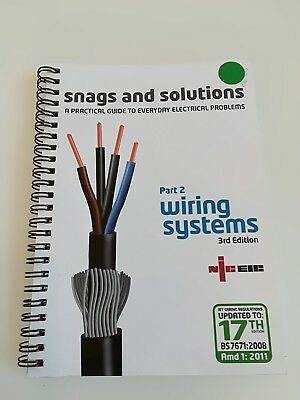 NICEIC book Wiring Systems - Snags and Solutions 3rd Edition