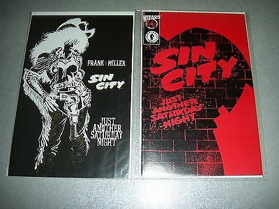 Sin City Just Another Saturday Night One Shot 1 and 1/2 wizard Frank Miller