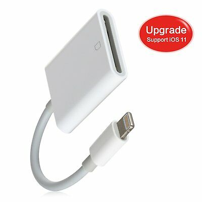 Sd Card Reader Lightning Adapter Trail Game Camera Viewer Iphone Ios Micro Usb