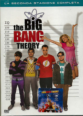 THE BIG BANG THEORY STAGIONE 2 (4 disc) DVD NUOVO