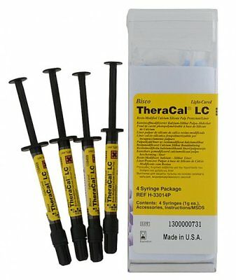BISCO Theracal LC Resin Modified Cacium Silicate Pulp 1 x 4 Syringes