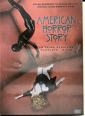 AMERICAN HORROR STORY - Stagione 01 (4 Dvd) - DVD NUVO