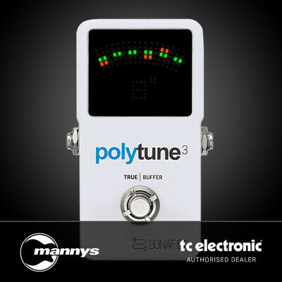 TC Electronic PolyTune 3 Poly-Chromatic Tuner w/ Built-In Buffer