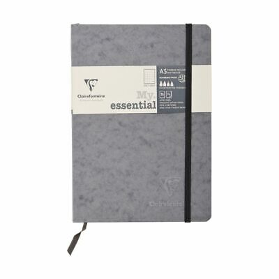 Clairefontaine A5 Age Bag Notebook Dot Grid Grey