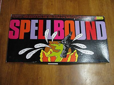 Rare SPELLBOUND Spelling Board Game COMPLETE Excellent Condition  1988
