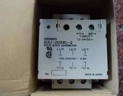 1PC Brand NEW IN BOX OMRON Solid State Relay G3J-205BL-2 12-24VDC