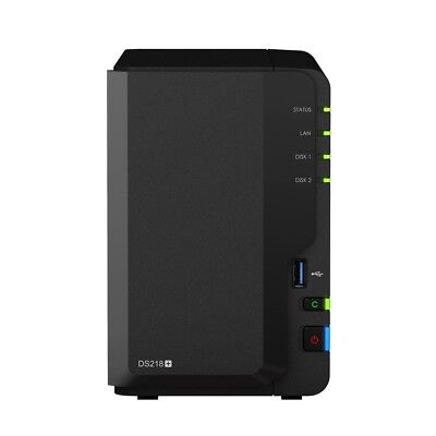 NewSynology DS218+ 2GB RAM Dual Core CPU 2-bay NAS Network Attached Storage