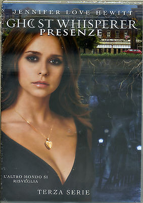 GHOST WHISPERER - Presenze STAGIONE 3 (5disc) DVD NUOVO