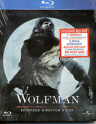 Wolfman - Extented Director's Cut -2 versioni BLU RAY NUOVO
