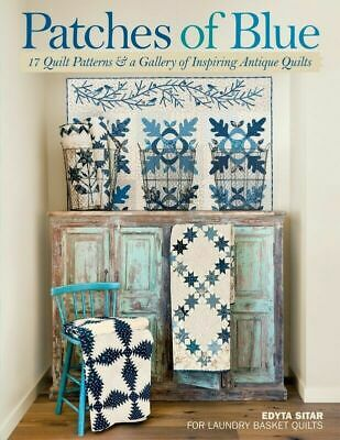 Patches of Blue Book by Edyta Sitar - 17 patterns