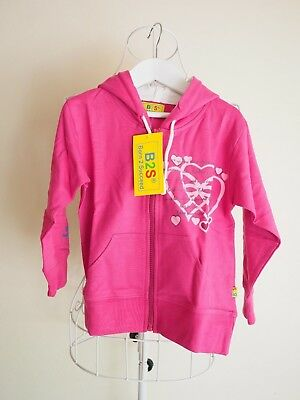 """Born to Succeed"" Size 5 Girls Pink 'Princess Story' Long Sleeved Hoodie - BNWT!"