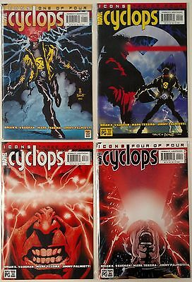 X Men Icons - Cyclops 1-4 (Marvel 2001) Full Set