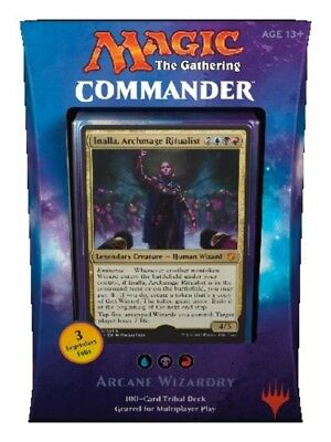 Magic the Gathering - Commander 2017 Wizard Tribal