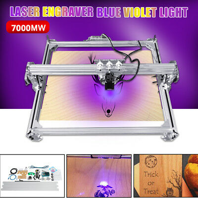 7000mw 100x100cm CNC Laser Engraving Logo Carver Cutting Engraver Cutter Machine