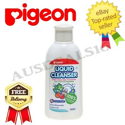 New Baby Infant Toddler Pigeon Feeding Bottle Liquid Cleansing Cleanser 450ml