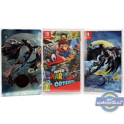 25 x Switch Game Box Protector for Nintendo STRONG 0.4mm Plastic Display Case