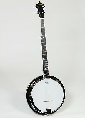 Heartland 5-String Banjo 24 Bracket with Closed Solid Back and Geared 5th Tuner