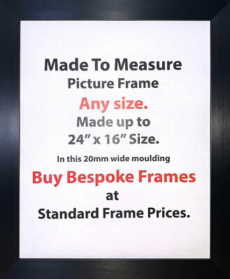 Bespoke Picture Frame Made To Measure Picture Size Framing Service Online 20 mm