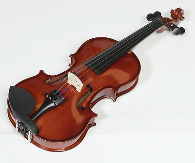 New Heartland Solid Maple Violin, Student Violin Available in  1/4 1/2 3/4 4/4,