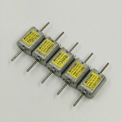10PCS Miniature 8mm 2-Phase 4-Wire Micro Stepping Stepper Motor Copper Gear DIY