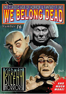 We Belong Dead #16 (2015, UK 80 pages) new and unopened