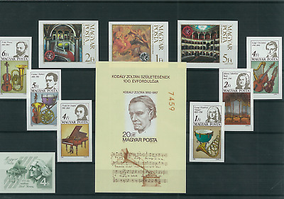 Hungary- 2017- Imperforated Thematic Sets - Car History - Collectibles