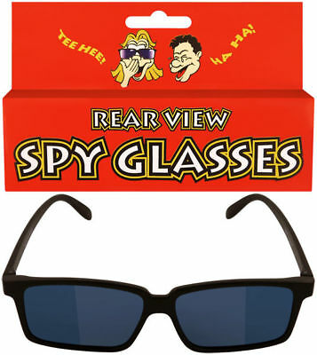 Kids Spy Glasses - Rear View Novelty Gadget Mirror Toy Sunglasses Black Children