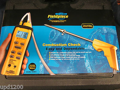 Fieldpiece-Cumbustion Check-Sox3