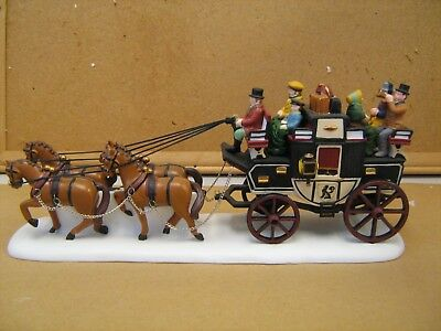 Dept 56 Dickens Village The Holiday Coach #55611