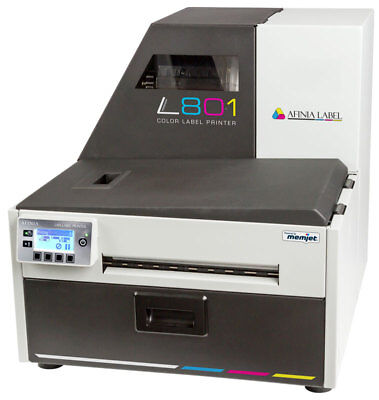 Afinia L801 High Speed Memjet Color Label Printer | Color Label Press | NEW