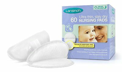 Lansinoh Disposable Nursing Pads 60 Pieces Free Next Day Delivery Breast Feeding